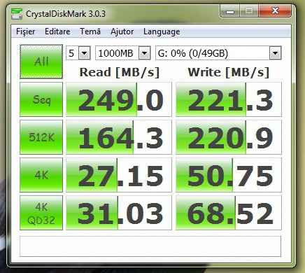 Crystal partitie G SSD 1