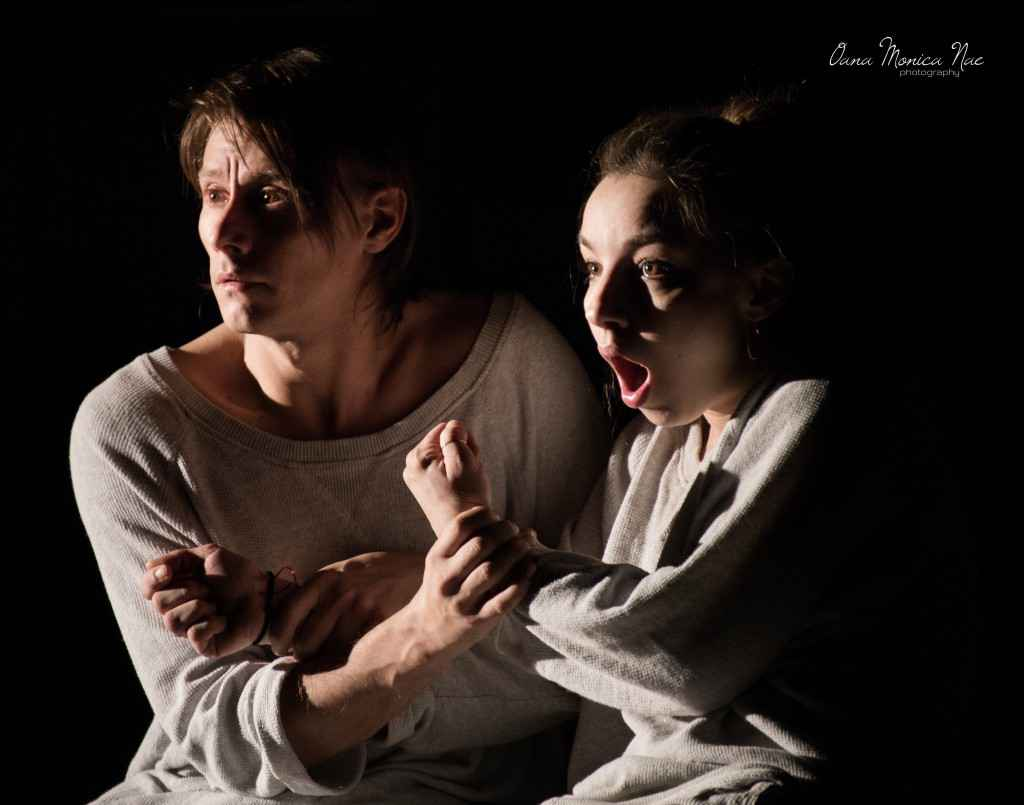 Marius Manole și Ilinca Manolache în Masculin-feminin-foto Oana Monica Nae
