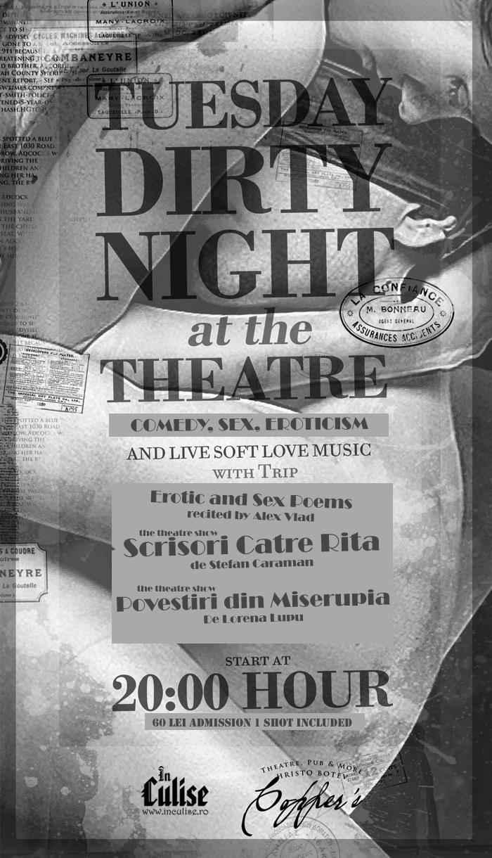 Noaptea Teatrului Erotic 26 mai